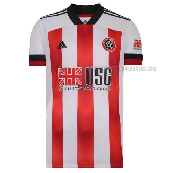 camiseta 1ª equipación del sheffield united 2020-2021