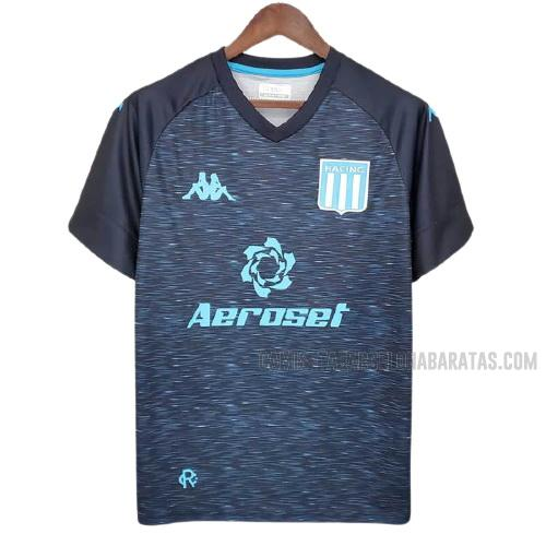 camiseta 2ª equipación del racing club 2021-2022