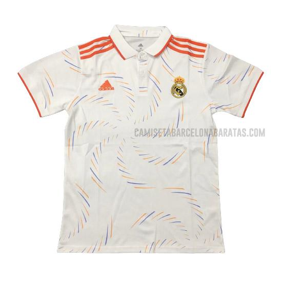 camiseta polo 1ª equipación real madrid 2021-2022
