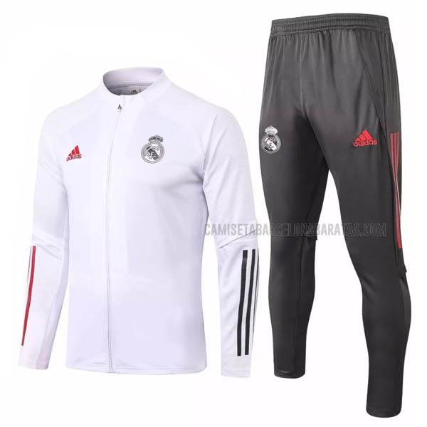 chaqueta real madrid blanco 2020-2021