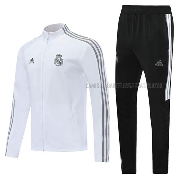 chaqueta real madrid blanco 2020