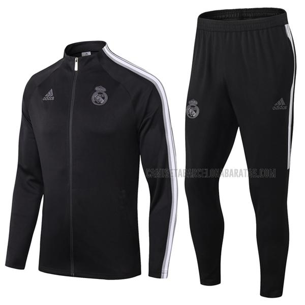 chaqueta real madrid i negro 2020-2021