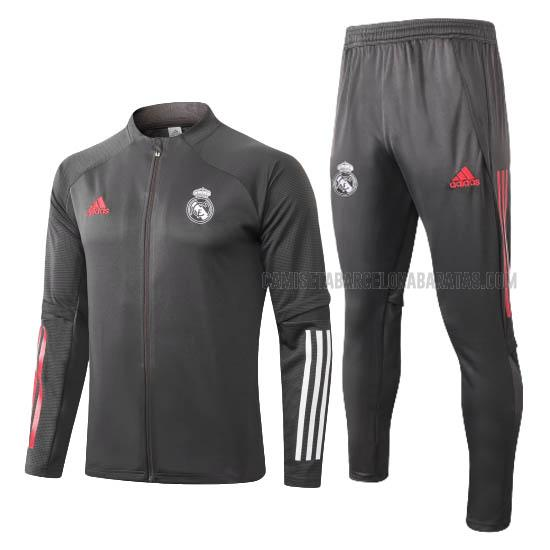chaqueta real madrid negro 2020-2021